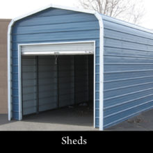 sheds from olympic metal buildings